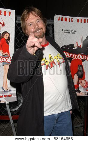 Rowdy Roddy Piper at the Los Angeles Party for
