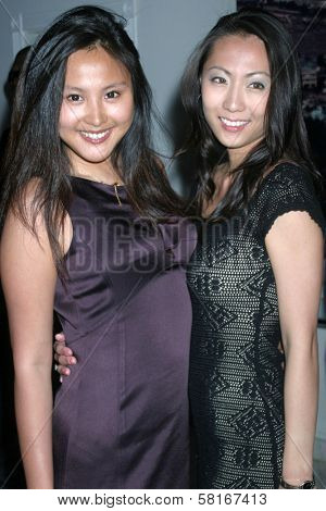 Ning Ning Zhang and guest at the Fashion TV 10th Anniversary Party. Private Estate, Beverly Hills, CA. 04-28-07