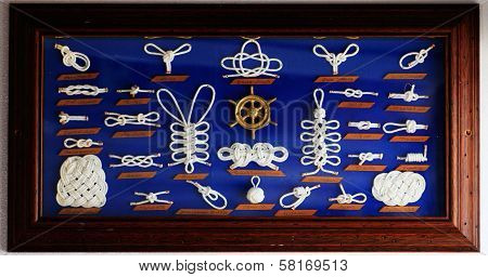 A Decorative Collection Of Marine Knots
