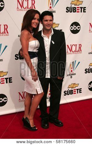Susie Sprague and Corey Feldman at the 2007 Alma Awards. Pasadena Civic Auditorium, Pasadena, CA. 06-01-07