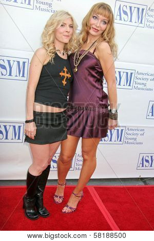 Riley Weston and Lorielle New at the 15th Annual American Society of Young Musicians Spring Benefit Concert and Awards. Scientology Center, Hollywood, CA. 06-07-07