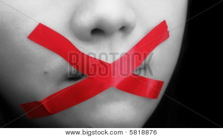 closed your mouth