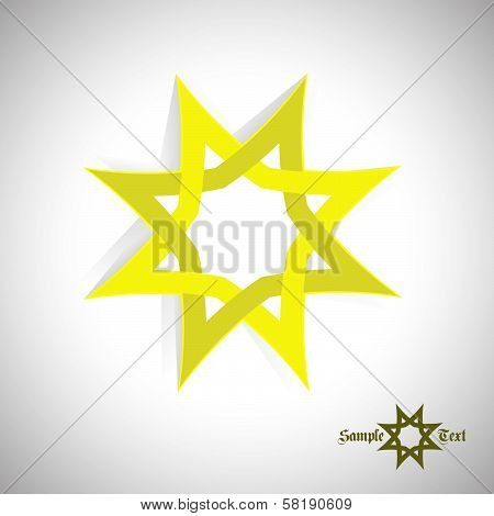 Art abstract icon Star