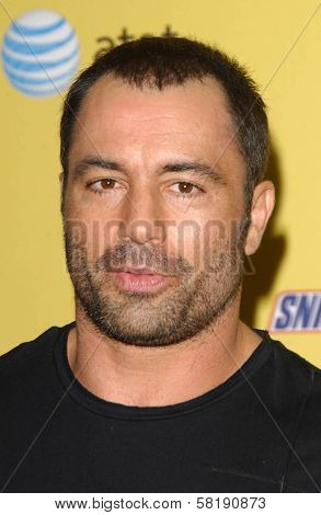 Joe Rogan in the press room at Spike TV's