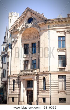 Old Building In Riga, Latvia