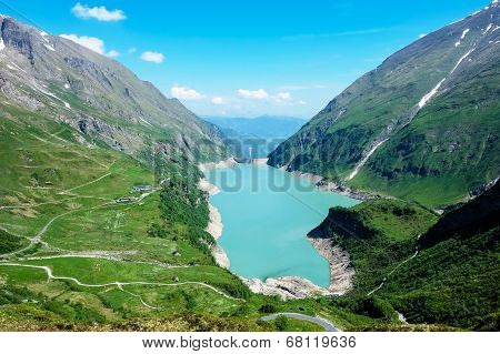 Kaprun High Altitude Storage Lake