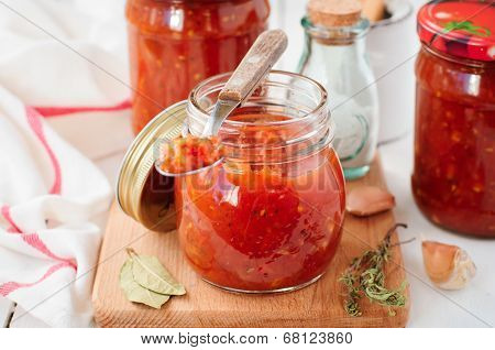 Tomato Sauce, Canned Marinara Preserves