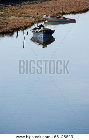 Boats on calm waters