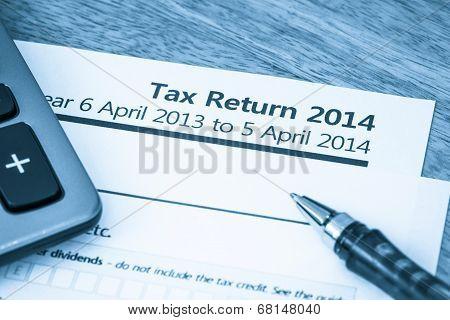 Tax Return Form 2014