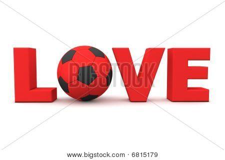 Futebol amor vermelho