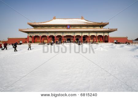 In 1406 built an unparalleled masterpiece of ancient architecture: the National Palace Museum.