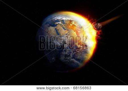 Meteor impact