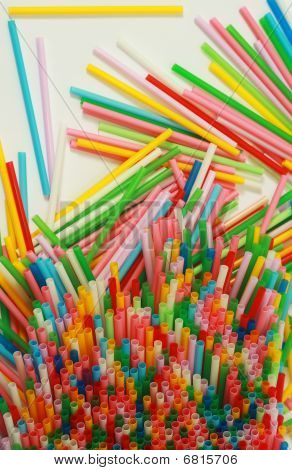 Drinking straws pattern