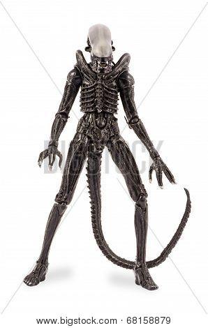 Standing Alien