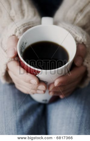 Cup of Dark Coffee