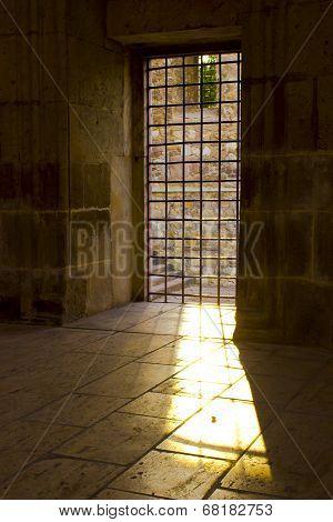 Sun Light Pass The Prison Window