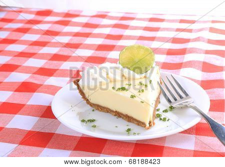 Tropical Light On Key Lime Pie