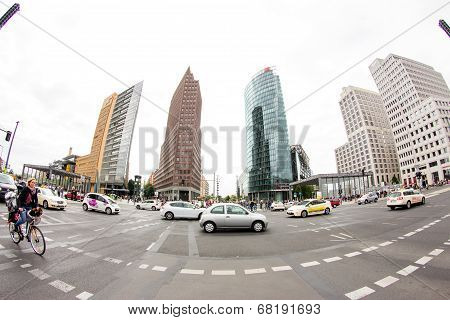 Postamer Platz in Berlin, Germany
