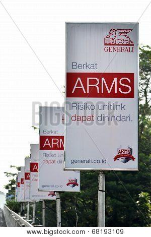 generali insurance banner
