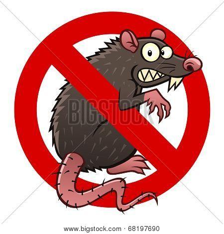 Anti Rat Sign