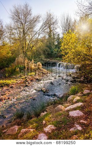 Little Stream In Provence