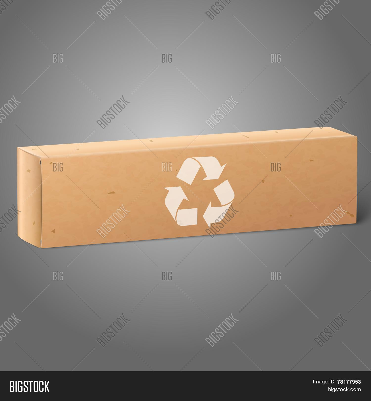 Realistic Blank Craft Vector Photo Free Trial Bigstock