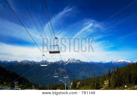 Cable carts & snow peaks