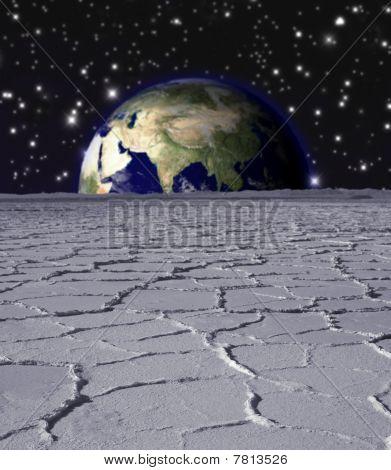 Lugar de la tierra