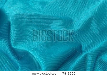 Blue Green Satin Texture