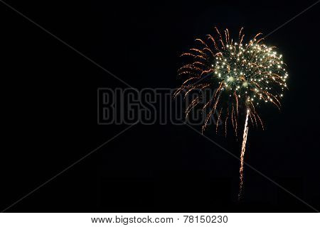 Isolated Fireworks