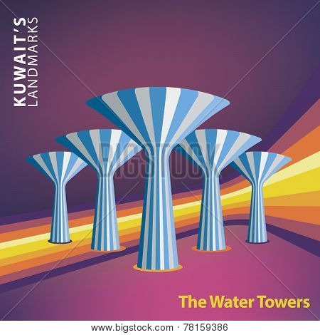 Kuwait's Water Towers