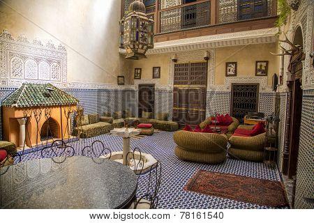 Riad In Marrakesh, Morocco