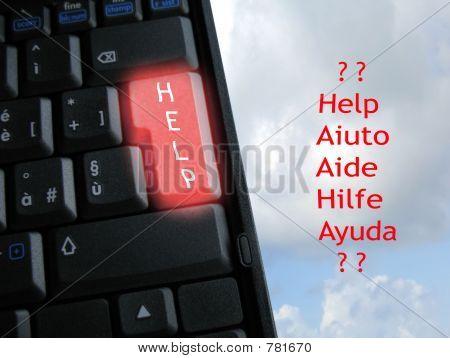 special help keyboard