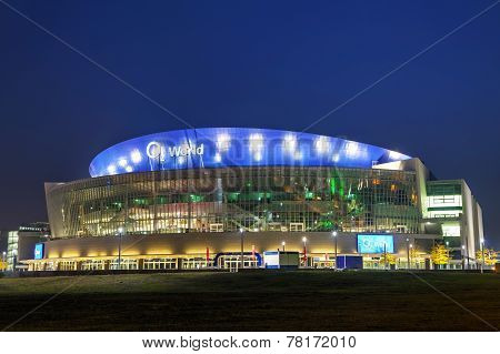 O2 World Stadium In Berlin, Germany