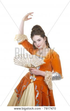 Dance In Baroque Dress