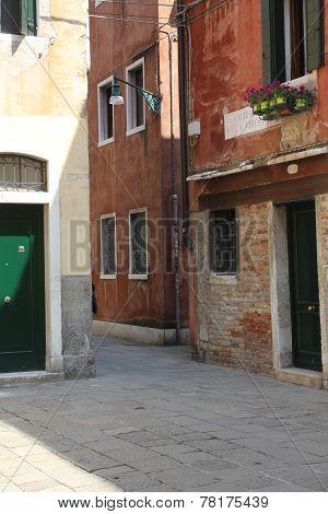 Venice ancient buildings