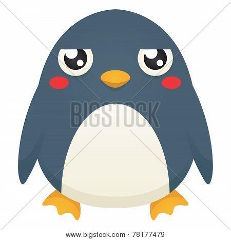 Unimpressed Penguin