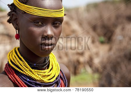 Portrait Of The African Girl.