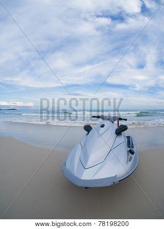 Jetski on the beach in Koh Samui