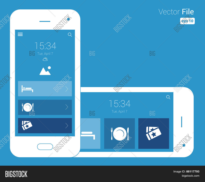 Responsive design blueprint mobile vector photo bigstock responsive design blueprint mobile wireframe malvernweather Choice Image