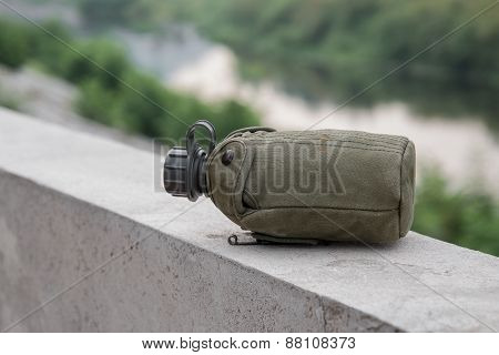 Army water canteen