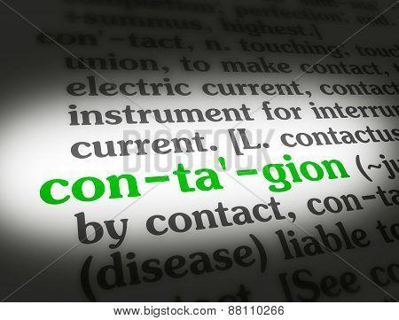 Dictionary Contagion