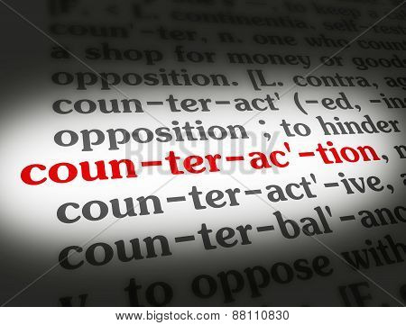 Dictionary Counteraction