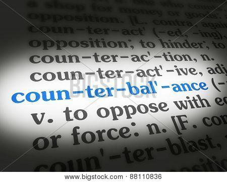 Dictionary Counterbalance