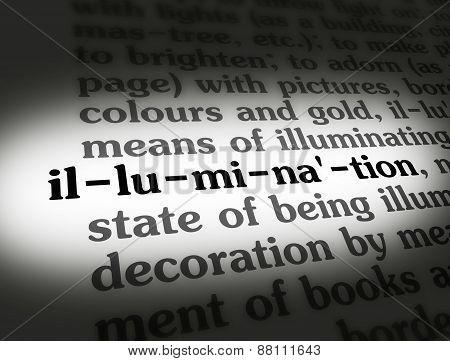 Dictionary Illumination