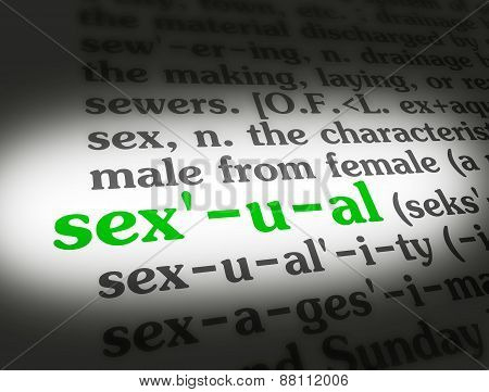 Dictionary Sexual