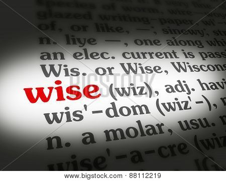 Dictionary Wise
