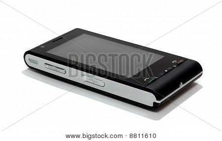 Black Cellular Phone