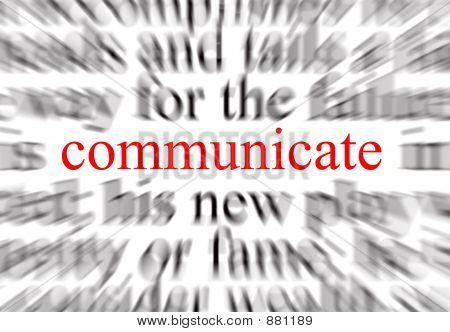Mittelpunkt der Kommunikation