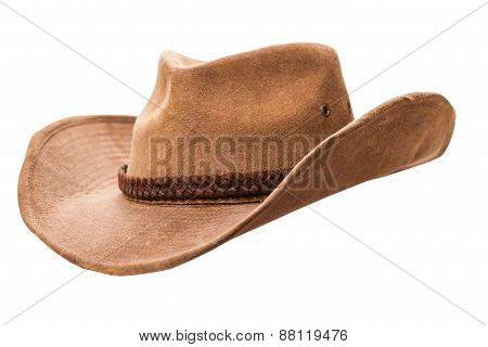 Cowboy Hat Closeup